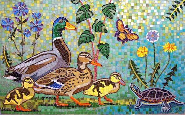 мозаика рисунок