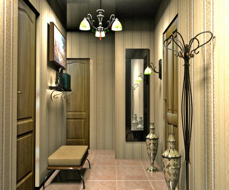 необычные люстры для коридора