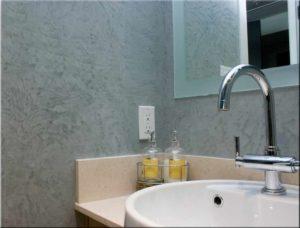 штукатурка в ванной