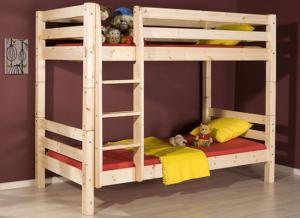 двухъярусная кровать бортик