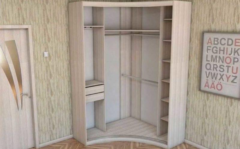 Угловой шкаф 21