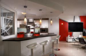 Ремонт современной кухни