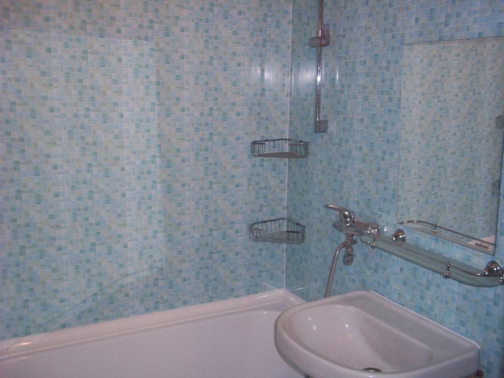 Ванная комната из пластиковых панелей своими руками