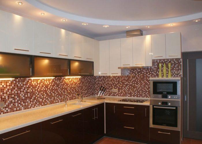 Гипсокартонные потолки на кухню
