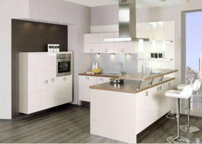 Двухуровневая стойка для кухни