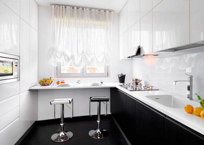 Стойка-подоконник для кухни