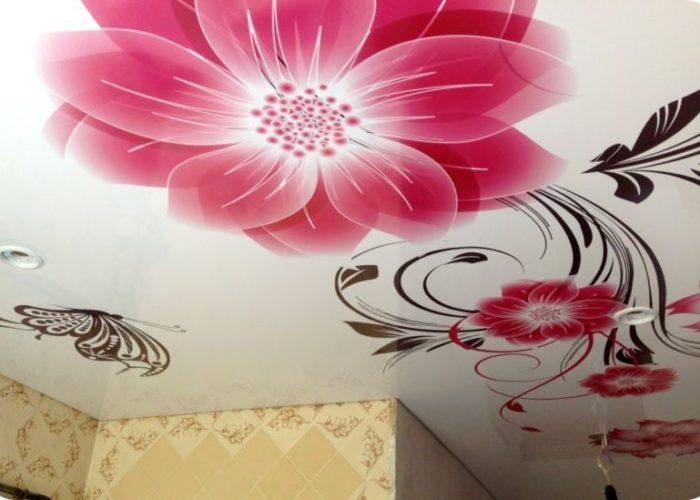 дизайнерские натяжные потолки
