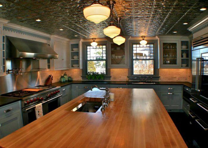 плитка потолочная кухонная