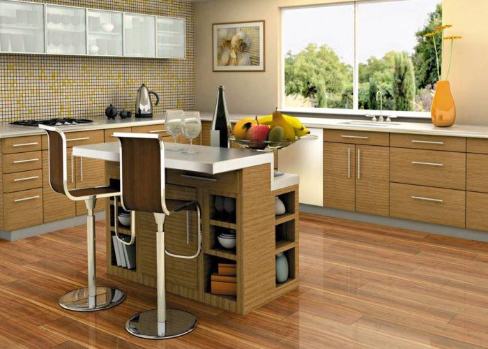 Барная стойка для кухни из ЛДСП