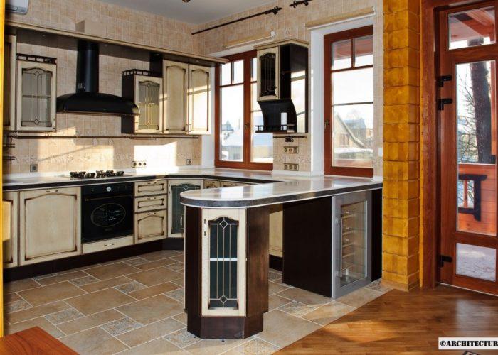 Классическая стойка для кухни