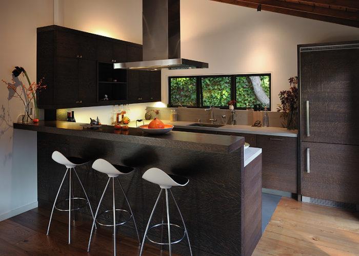 Барная стойка для кухни в современном стиле