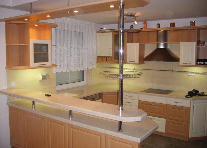 Комбинированная стойка для кухни