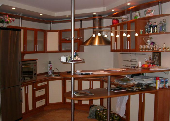 Барная стойка для кухни из МДФ