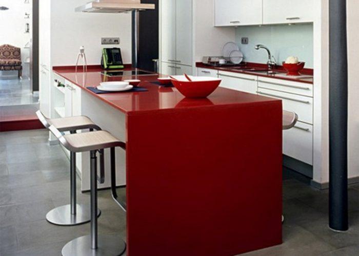 Барная стойка для кухни из пластика