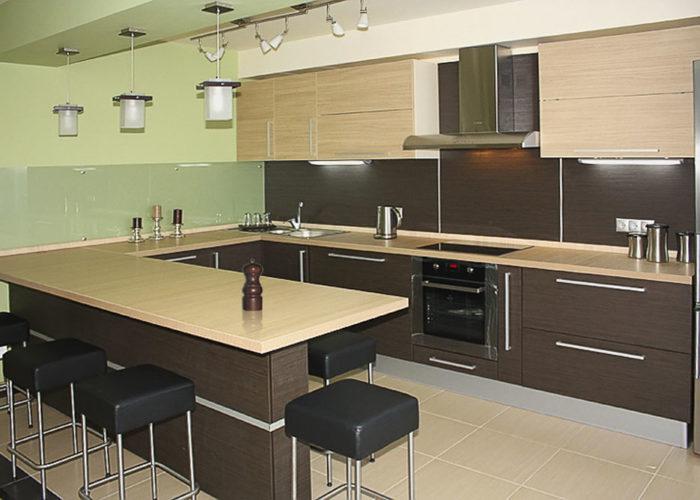 Барная стойка для кухни из ДСП
